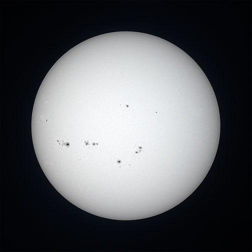 Sunčeve pjege 5.7.2014.