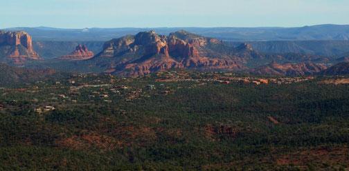 Aussicht vom The Doe Mountain Trail