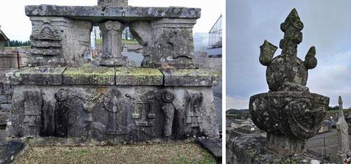 Le monument. Détails