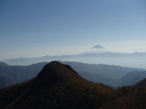 山梨百名山 黒富士 登山 コース ガイド