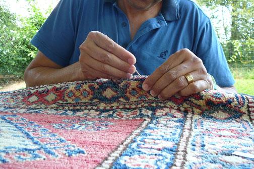 tappeto tarmato a Pordenone, trattamento anti tarme tappeto persiano a Palmanova