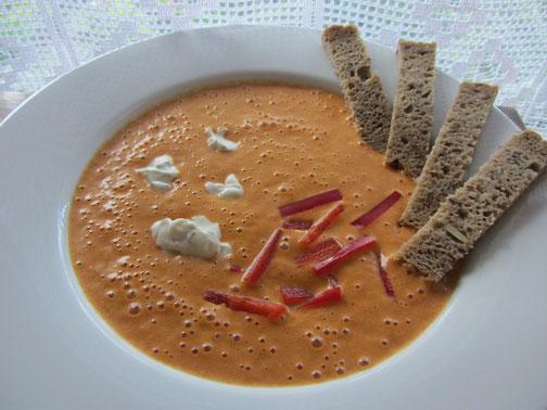 Rezept für die heißen Tage: Paprika-Kaltschale