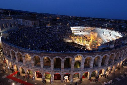 Golfreise Italien Golfpaket Golf Ferien Verona Oper Konzert