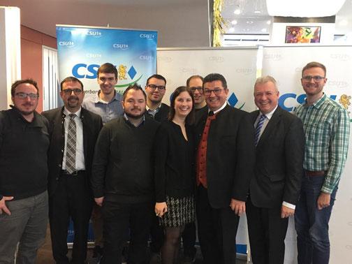 Neujahrsempfang, CSU Unterallgäu, Junge Union Unterallgäu, Markus Ferber, Franz Josef Pschierer, Klaus Holetschek