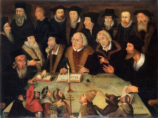 Gesetz und Evangelium - oder umgekehrt?