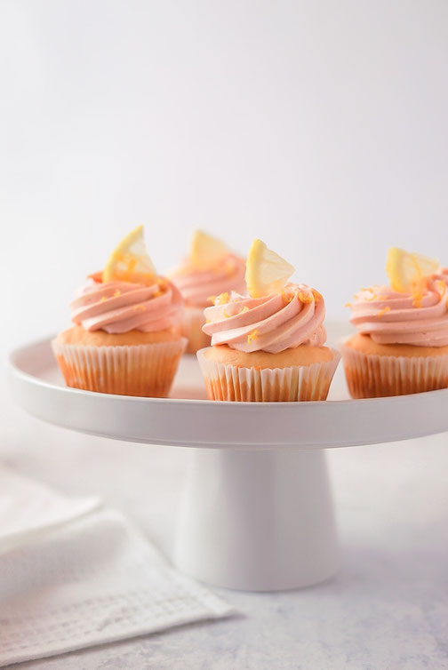 Zitronen - Cupcakes