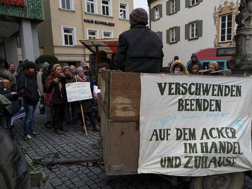Kundgebung in Olching