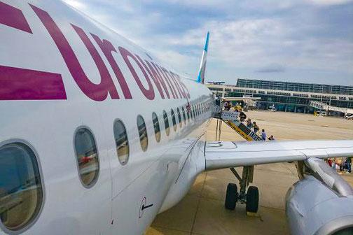 Eurowings, Sardinien, Olbia, Die Traumreiser, Flugzeug