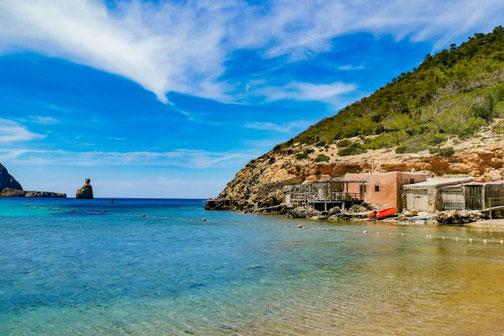 Ibiza, Balearen, Buchten, Strände, Die Traumreiser, Cala Benirras