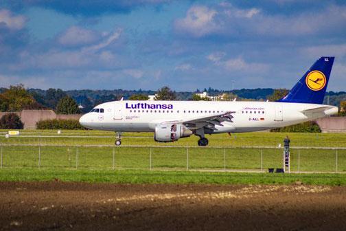 Lufthansa, Airbus A319, Direktflug, Florenz, Die Traumreiser