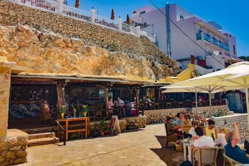 Ibiza, Eivissa, Balearen, Restaurants, Die Traumreiser, Zulu Lounge, Portinatx