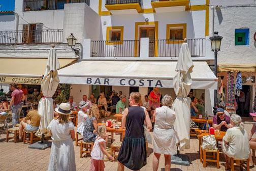 Ibiza, Eivissa, Balearen, Restaurants, Die Traumreiser, Bar Costa