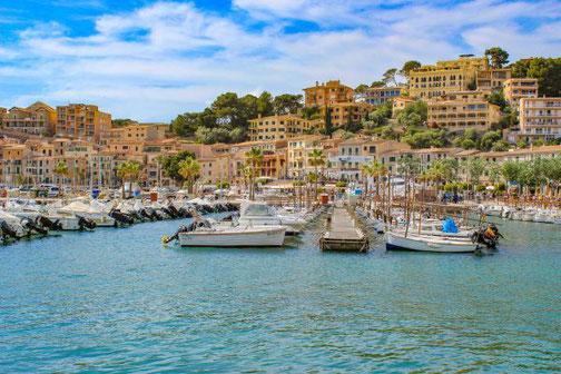 Mallorca, Spanien, Balearen, Reisetipps, Highlights, Die Traumreiser, Port de Sóller, Hafen, Yachthafen