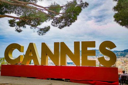 Côte D'Azur, Frankreich, Französische Riviera, Die Traumreiser,  Cannes, Festspiele, Zeichen