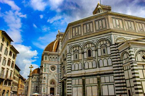 Florenz, Toskana, Italien, Altstadt, Die Traumreiser, Kathedrale, Dom