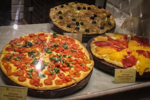 Florenz, Toskana, Markthalle, Italien, Pizza, Die Traumreiser