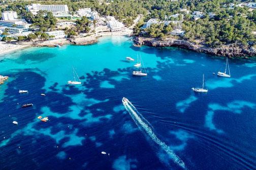 Ibiza, Balearen, Buchten, Strände, Die Traumreiser, Portinatx, Strand