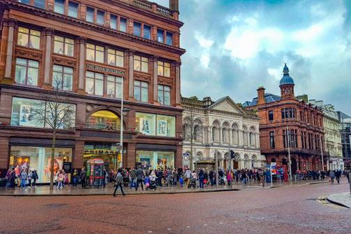 Belfast, Nordirland, Innenstadt, Highlights, Die Traumreiser