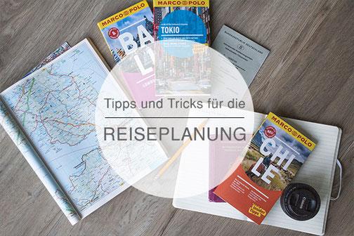 Reiseplanung, Liste, Tipps. Tricks