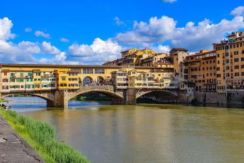 Florenz, Toskana, Italien, Ponte Veccio, Die Traumreiser