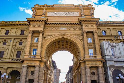 Florenz, Toskana, Italien, Altstadt, Die Traumreiser