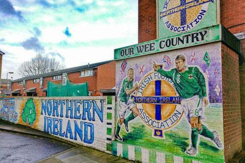 Belfast, Nordirland, Die Traumreiser, Mural