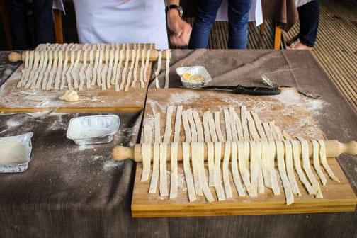 Kochkurs, Florenz, Carmela, Bauernhaus, Küche, Die Traumreiser, Pasta