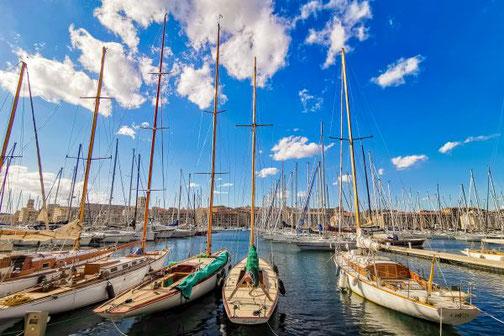 Côte D'Azur, Frankreich, Französische Riviera, Die Traumreiser,  Marseille, Hafen, alter Hafen