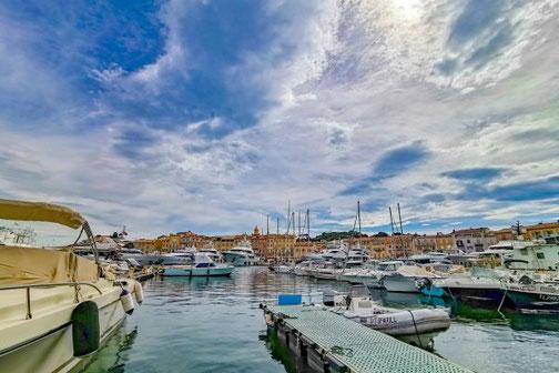 Côte D'Azur, Frankreich, Französische Riviera, Die Traumreiser,  Saint-Tropez, Hafen
