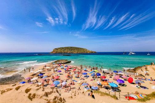 Ibiza, Balearen, Buchten, Strände, Die Traumreiser, Cala Comte