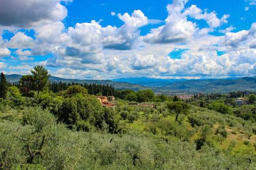 Florenz, Toskana, Überblick, Aussicht, Italien, Die Traumreiser