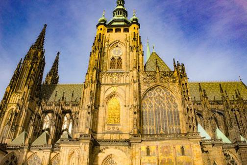 Prag, Altstadt, Die Traumreiser, Moldau, Hradschin, Veitsdom