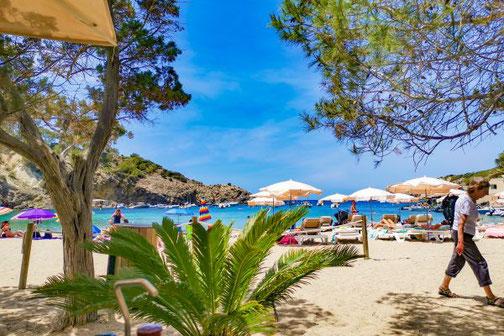 Ibiza, Balearen, Buchten, Strände, Die Traumreiser, Cala Vadella