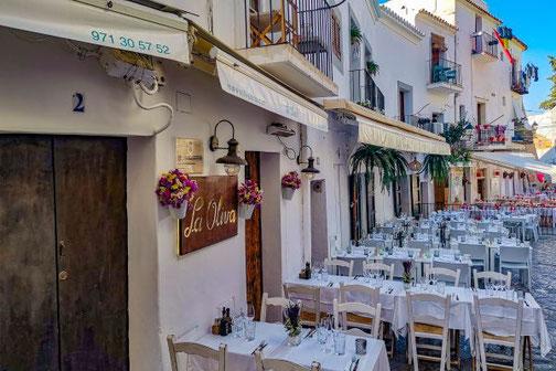 Ibiza, Eivissa, Balearen, Restaurants, Die Traumreiser, Dalt Villa, Restaurant