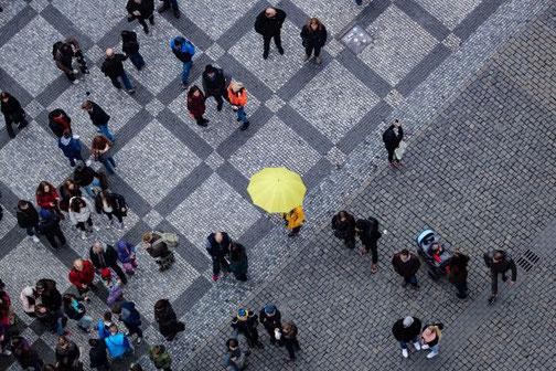 Prag, Altstadt, Die Traumreiser, Altstädter Rathaus