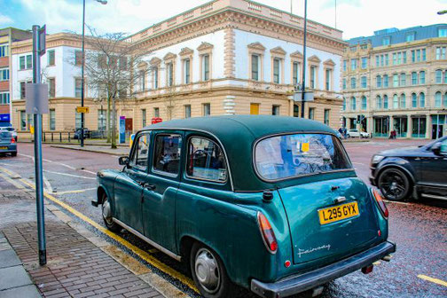 Belfast, Nordirland, Black Taxi, Highlights, Die Traumreiser, Sightseeing