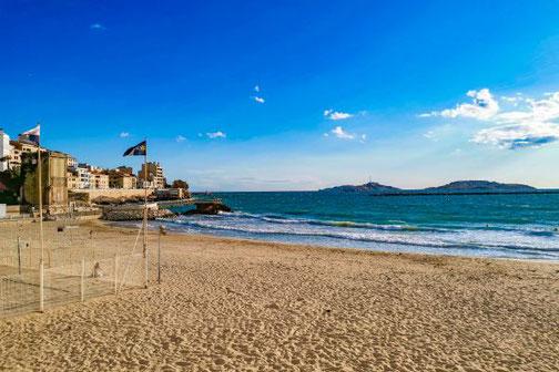 Côte D'Azur, Frankreich, Französische Riviera, Die Traumreiser,  Marseille, Strand, Stadtstrand