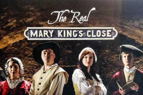 Mary King's CLose, Edinburgh, Schottland, Die Traumreiser