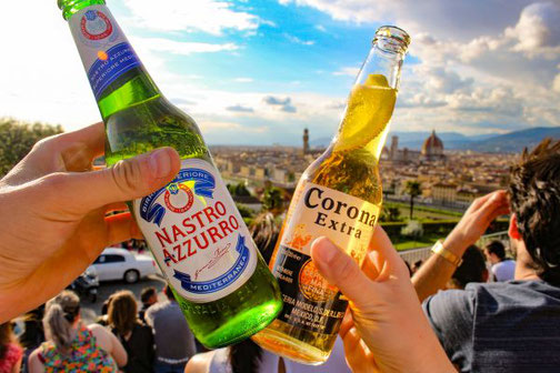 Florenz, Toskana, Italien, Die Traumreiser, Piazzale Michelangelo, Ausblick,