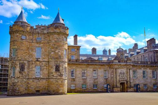 Palast, Schloss, Edinburgh, Schottland, Die Traumreiser