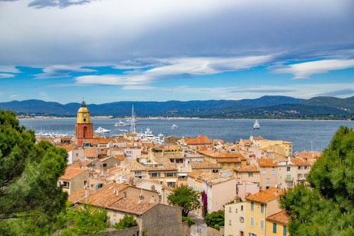 Côte D'Azur, Frankreich, Französische Riviera, Die Traumreiser,  Saint-Tropez, Hafen, Zitadelle, Aussicht