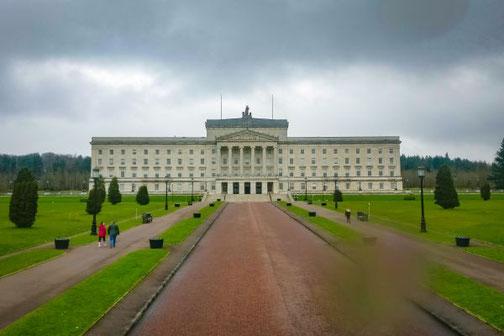 Parlamanet, Gebäude, Parlementsgebäude, Belfast, Nordirland, Die Traumreiser