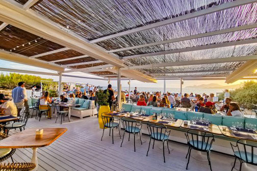 Ibiza, Eivissa, Balearen, Restaurants, Die Traumreiser, Experimental Beach