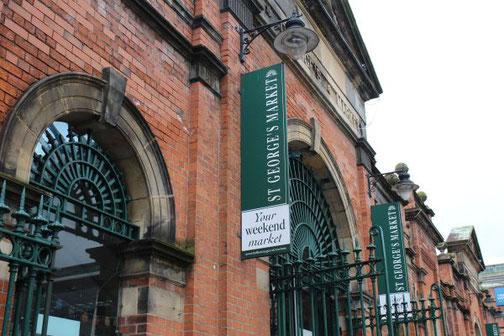 Belfast, Markt, St. Georges Market, Die Traumreiser, Highlight