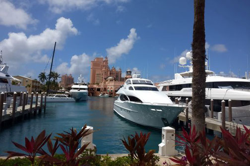 Die Traumreiser, MSC Divina, Yachthafen, Bahamas