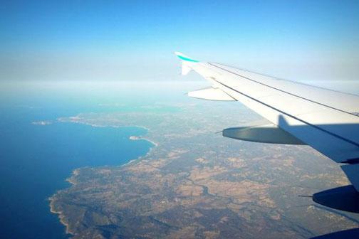 Sardinien, Buchten, Anflug, aus der Luft, Die Traumreiser