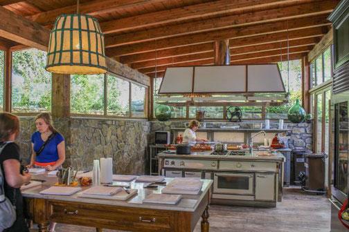 Kochkurs, Florenz, Carmela, Bauernhaus, Küche, Die Traumreiser