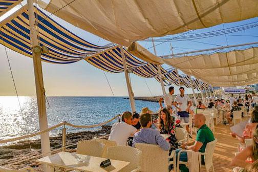 Ibiza, Eivissa, Balearen, Restaurants, Die Traumreiser, Cafe del Mar, San Antonio