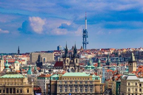 Prag, Altstadt, Die Traumreiser, Blick, Überblick