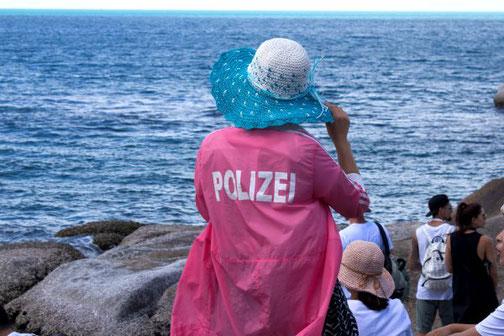 Polizei, Chinesin, Chinesen, Ausland, Urlaub, auf Reisen, China, Die Traumreiser